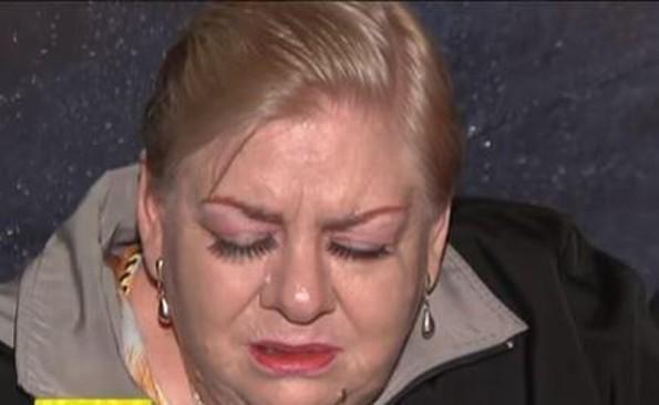 A Paquita la del Barrio la hace llorar la inseguridad (VIDEO)