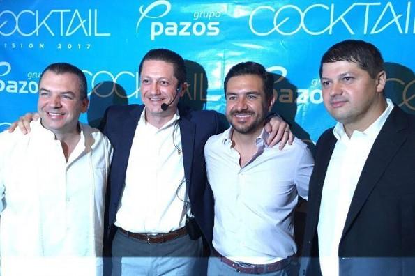 Grupo Pazos ofrece exitoso Cocktail de negocios Visión 2017 (FOTOS)